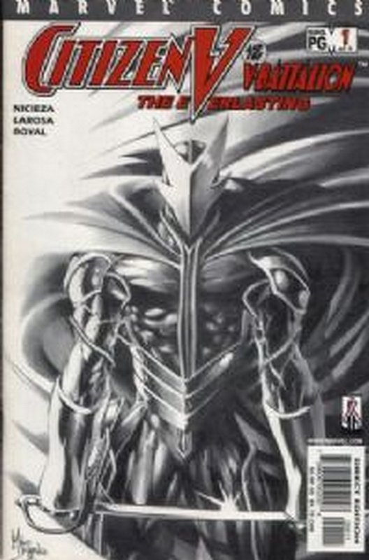 Cover of Citizen V: V Battalion Everlasting (2002 Ltd) #1. One of 250,000 Vintage American Comics on sale from Krypton!