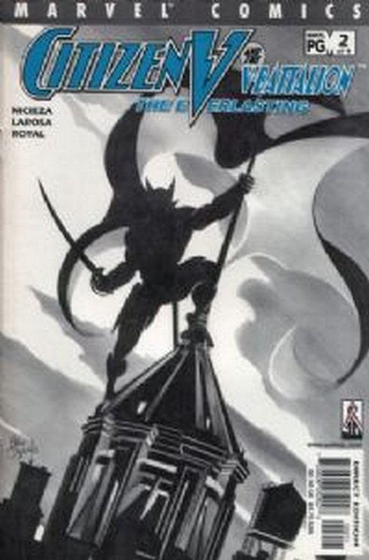 Cover of Citizen V: V Battalion Everlasting (2002 Ltd) #2. One of 250,000 Vintage American Comics on sale from Krypton!