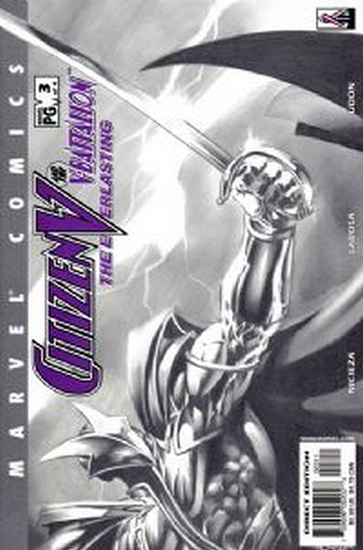 Cover of Citizen V: V Battalion Everlasting (2002 Ltd) #3. One of 250,000 Vintage American Comics on sale from Krypton!