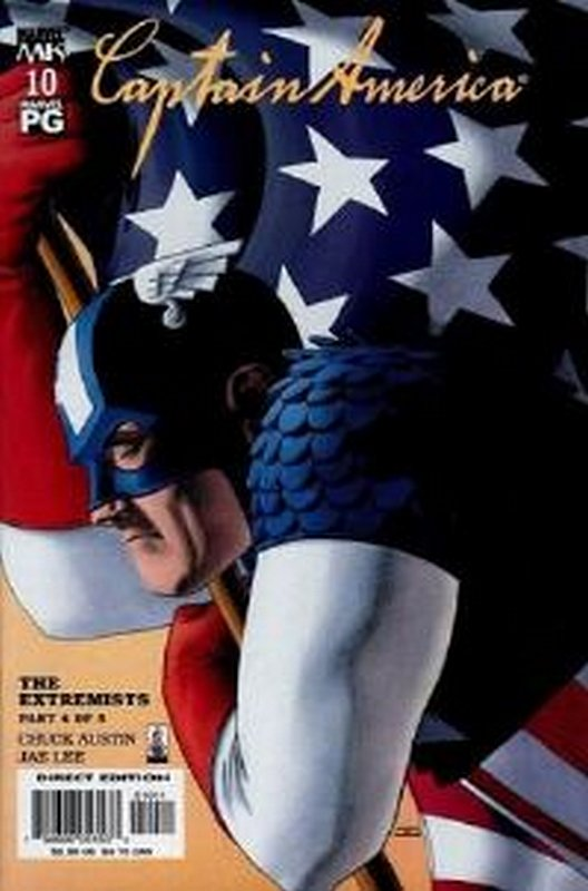 Cover of Captain America (Vol 4) #10. One of 250,000 Vintage American Comics on sale from Krypton!