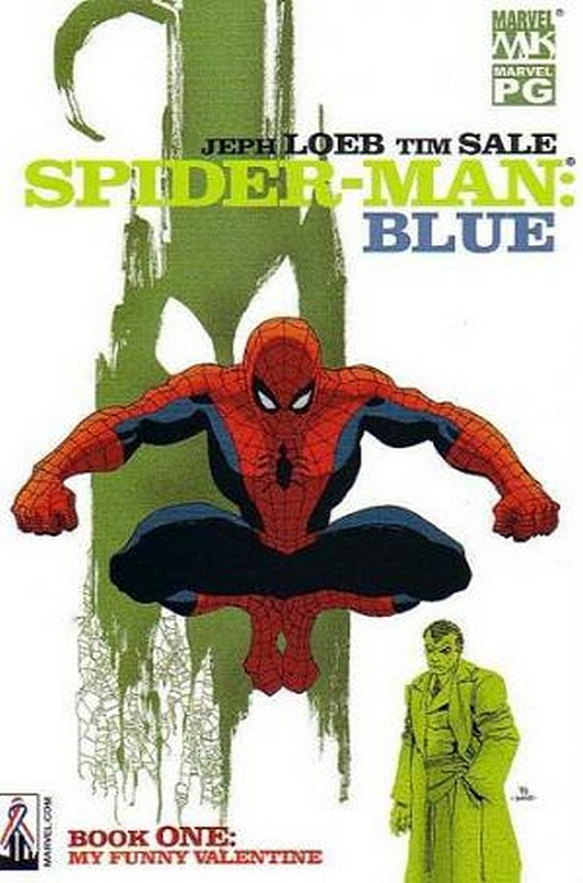 Cover of Spider-Man: Blue (2002 Ltd) #1. One of 250,000 Vintage American Comics on sale from Krypton!