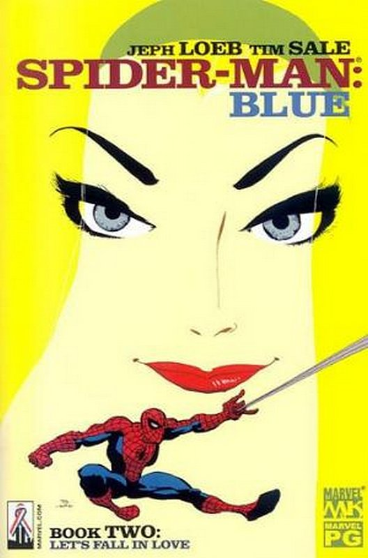 Cover of Spider-Man: Blue (2002 Ltd) #2. One of 250,000 Vintage American Comics on sale from Krypton!