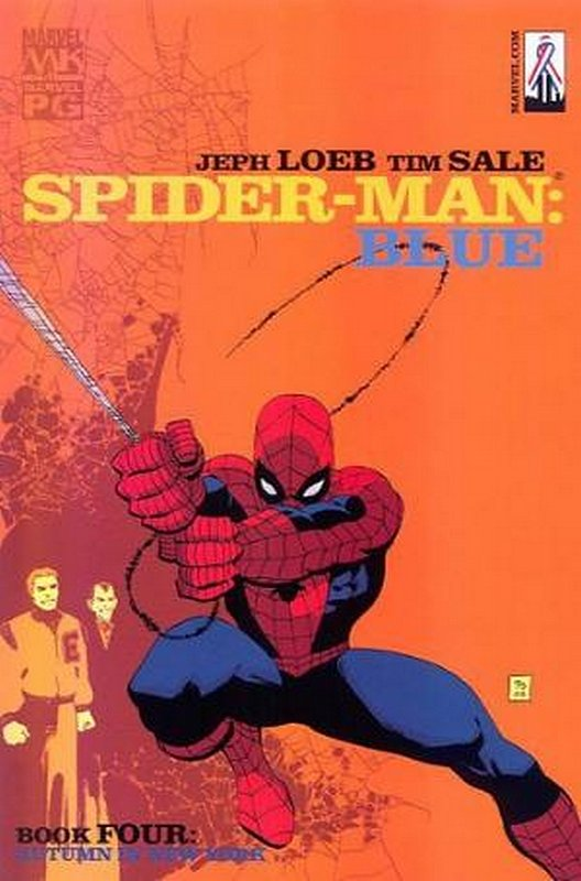 Cover of Spider-Man: Blue (2002 Ltd) #4. One of 250,000 Vintage American Comics on sale from Krypton!