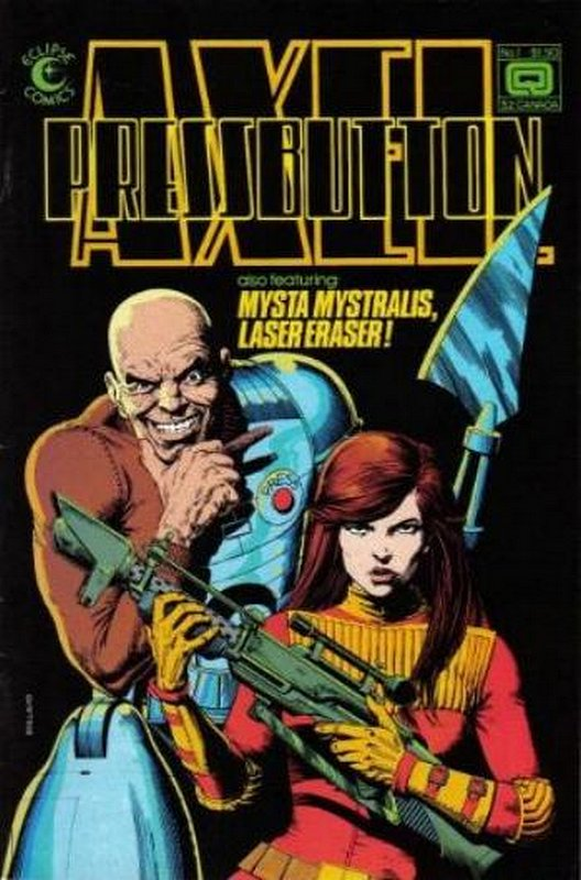 Cover of Axel Pressbutton (1984 Ltd) #1. One of 250,000 Vintage American Comics on sale from Krypton!
