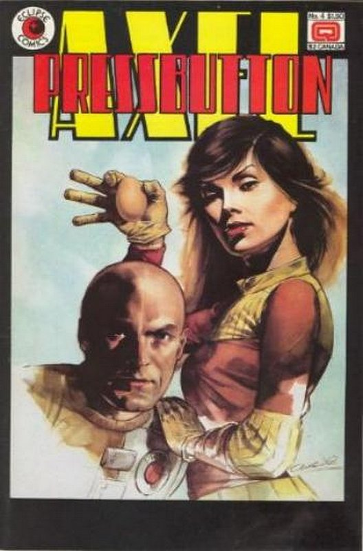 Cover of Axel Pressbutton (1984 Ltd) #4. One of 250,000 Vintage American Comics on sale from Krypton!