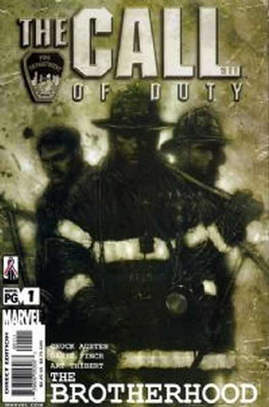 Cover of Call of Duty: The Brotherhood (2002 Ltd) #1. One of 250,000 Vintage American Comics on sale from Krypton!