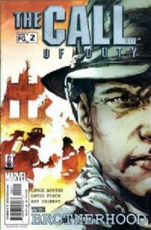 Cover of Call of Duty: The Brotherhood (2002 Ltd) #2. One of 250,000 Vintage American Comics on sale from Krypton!