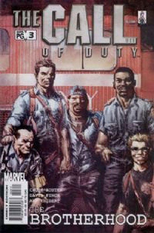 Cover of Call of Duty: The Brotherhood (2002 Ltd) #3. One of 250,000 Vintage American Comics on sale from Krypton!