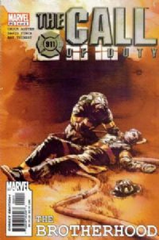 Cover of Call of Duty: The Brotherhood (2002 Ltd) #4. One of 250,000 Vintage American Comics on sale from Krypton!