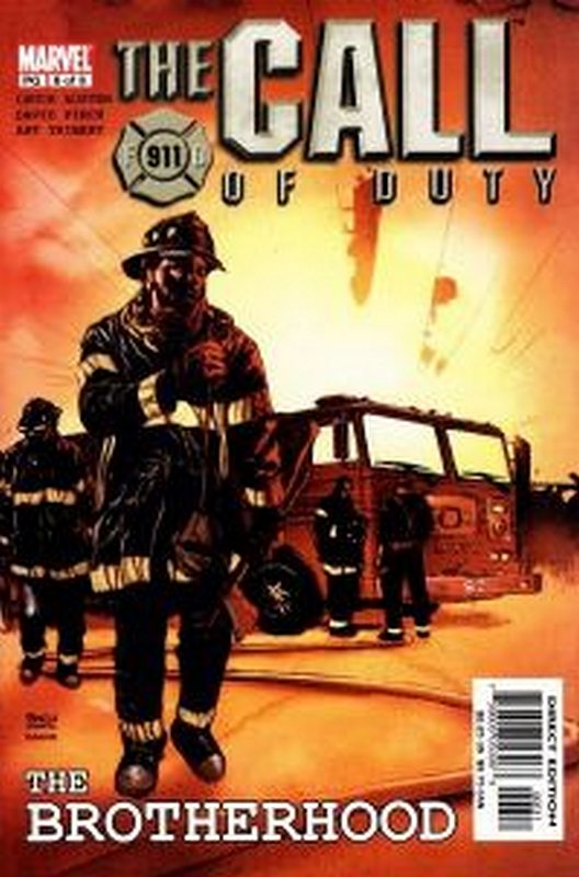 Cover of Call of Duty: The Brotherhood (2002 Ltd) #6. One of 250,000 Vintage American Comics on sale from Krypton!