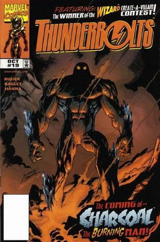 Cover of Thunderbolts (Vol 1) #19. One of 250,000 Vintage American Comics on sale from Krypton!