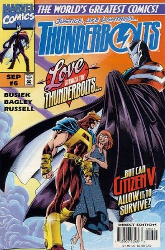 Cover of Thunderbolts (Vol 1) #6. One of 250,000 Vintage American Comics on sale from Krypton!