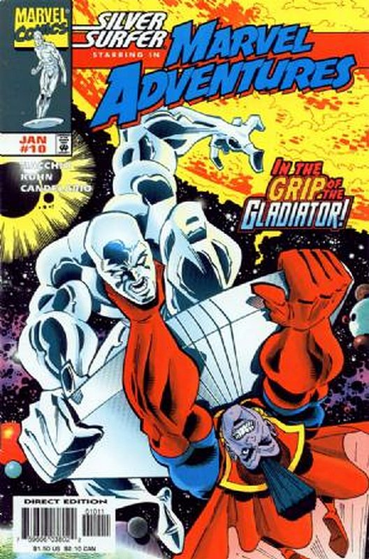 Cover of Marvel Adventures (Vol 1) #10. One of 250,000 Vintage American Comics on sale from Krypton!