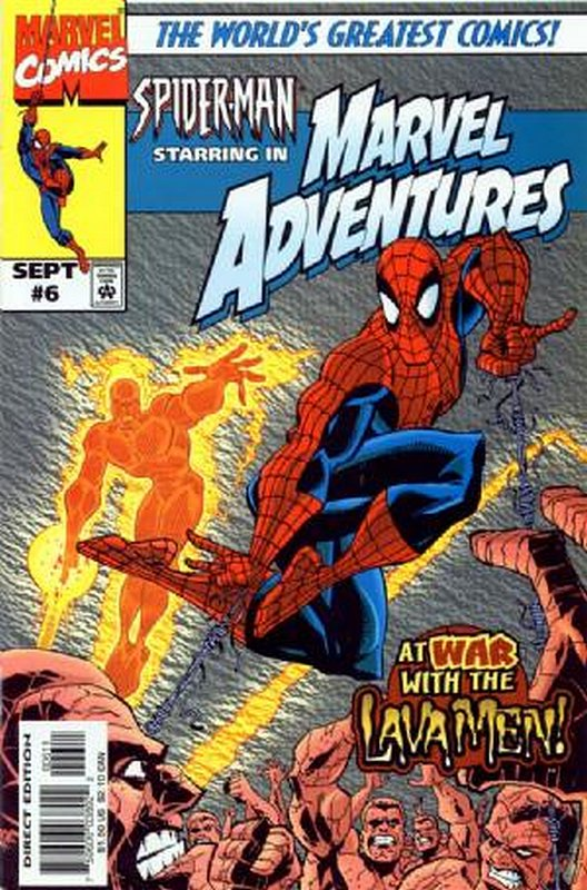Cover of Marvel Adventures (Vol 1) #6. One of 250,000 Vintage American Comics on sale from Krypton!