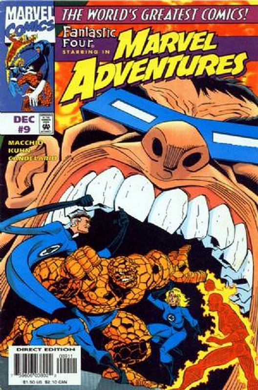 Cover of Marvel Adventures (Vol 1) #9. One of 250,000 Vintage American Comics on sale from Krypton!