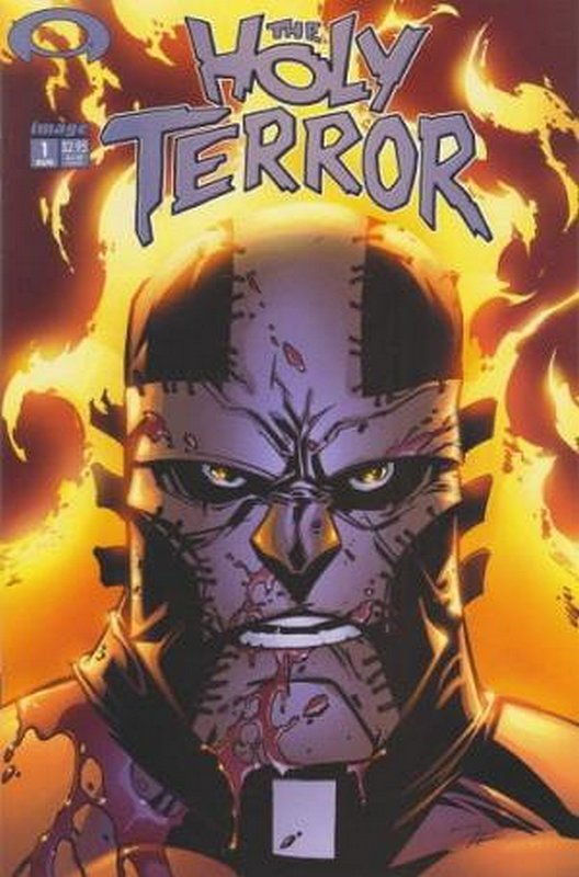 Cover of Holy Terror (2002 Ltd) #1. One of 250,000 Vintage American Comics on sale from Krypton!