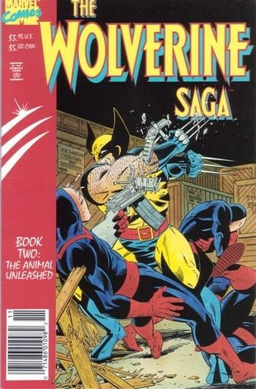 Cover of Wolverine: Saga (1989 Ltd) #2. One of 250,000 Vintage American Comics on sale from Krypton!