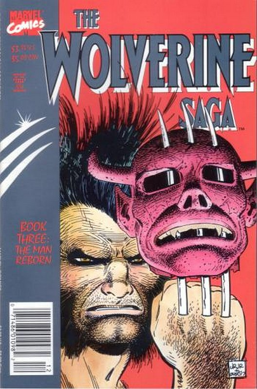 Cover of Wolverine: Saga (1989 Ltd) #3. One of 250,000 Vintage American Comics on sale from Krypton!