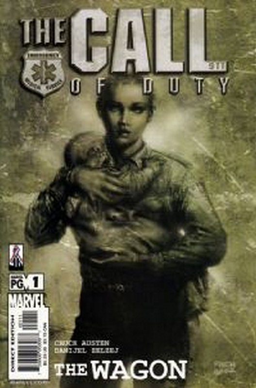 Cover of Call of Duty: The Wagon (2002 Ltd) #1. One of 250,000 Vintage American Comics on sale from Krypton!