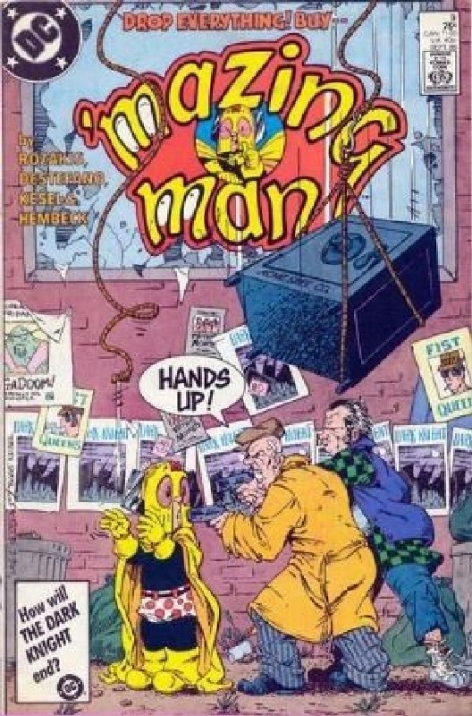 Cover of Mazing Man (Vol 1) #9. One of 250,000 Vintage American Comics on sale from Krypton!