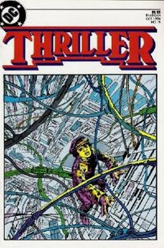 Cover of Thriller (1983 Ltd) #11. One of 250,000 Vintage American Comics on sale from Krypton!