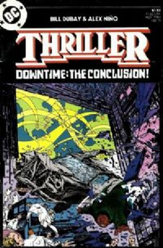 Cover of Thriller (1983 Ltd) #12. One of 250,000 Vintage American Comics on sale from Krypton!