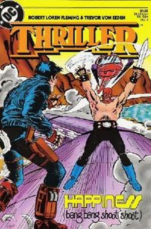 Cover of Thriller (1983 Ltd) #4. One of 250,000 Vintage American Comics on sale from Krypton!