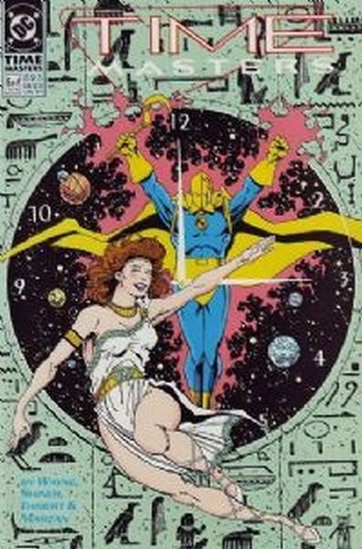 Cover of Time Masters (1990 Ltd) #6. One of 250,000 Vintage American Comics on sale from Krypton!