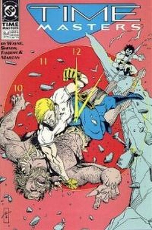 Cover of Time Masters (1990 Ltd) #8. One of 250,000 Vintage American Comics on sale from Krypton!