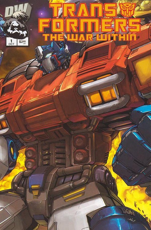 Cover of Transformers: The War Within (2002 Ltd) #1. One of 250,000 Vintage American Comics on sale from Krypton!