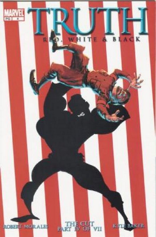Cover of Truth: Red White & Black #4. One of 250,000 Vintage American Comics on sale from Krypton!