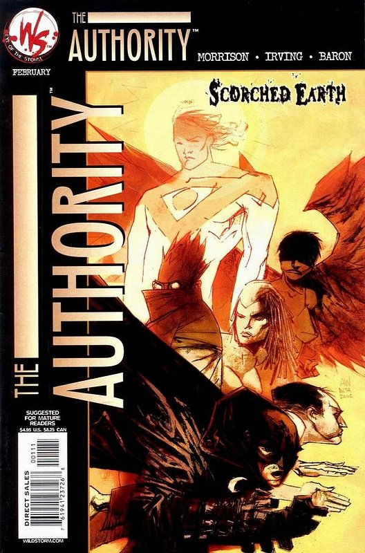 Cover of Authority: Scorched Earth (2002 One Shot) #1. One of 250,000 Vintage American Comics on sale from Krypton!