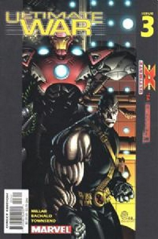 Cover of Ultimate War (2002 Ltd) #3. One of 250,000 Vintage American Comics on sale from Krypton!