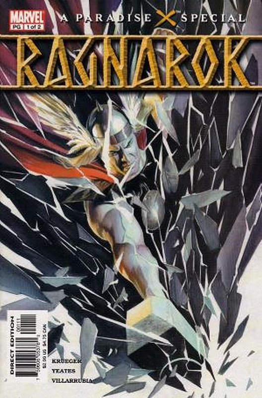 Cover of Paradise X: Ragnarok (2003 Ltd) #1. One of 250,000 Vintage American Comics on sale from Krypton!