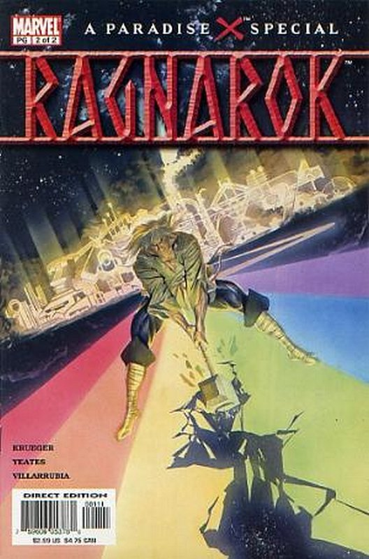 Cover of Paradise X: Ragnarok (2003 Ltd) #2. One of 250,000 Vintage American Comics on sale from Krypton!