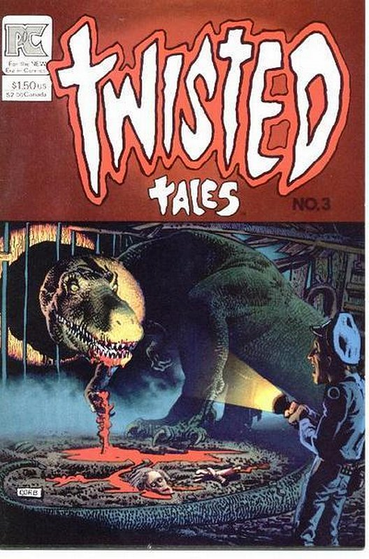 Cover of Twisted Tales #3. One of 250,000 Vintage American Comics on sale from Krypton!