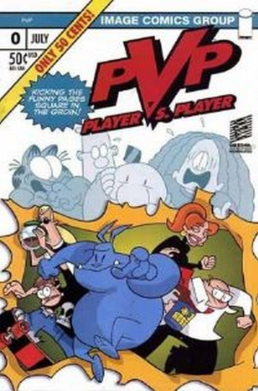 Cover of PVP: Player vs Player #0. One of 250,000 Vintage American Comics on sale from Krypton!
