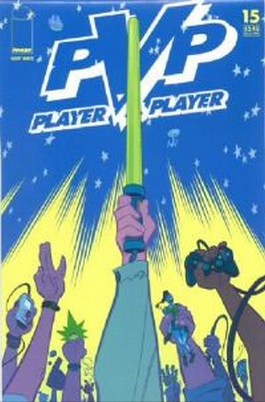 Cover of PVP: Player vs Player #15. One of 250,000 Vintage American Comics on sale from Krypton!