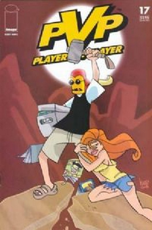 Cover of PVP: Player vs Player #17. One of 250,000 Vintage American Comics on sale from Krypton!