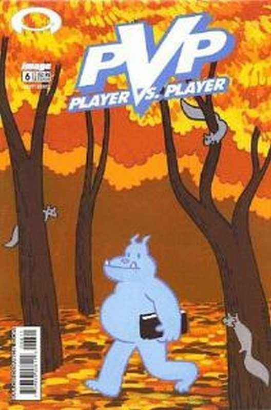 Cover of PVP: Player vs Player #6. One of 250,000 Vintage American Comics on sale from Krypton!
