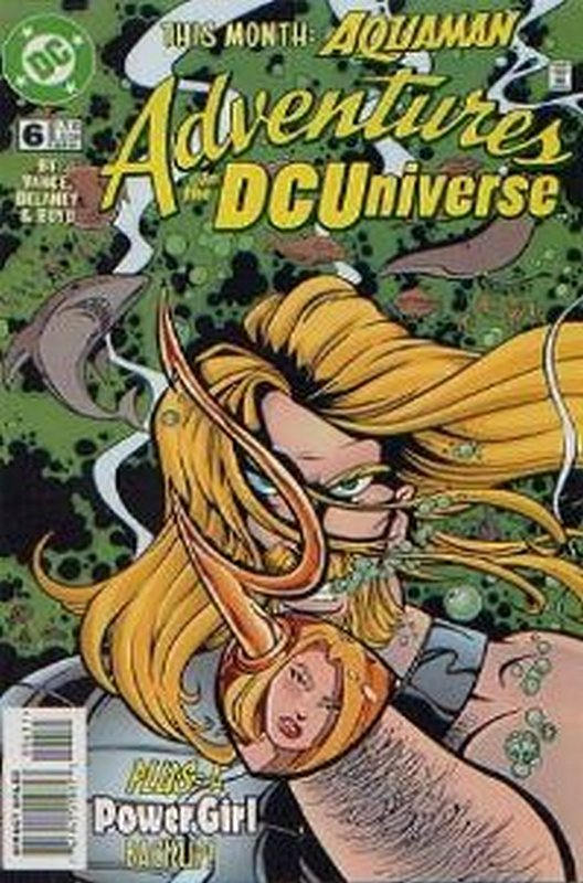 Cover of Adventures in the DC Universe (Vol 1) #6. One of 250,000 Vintage American Comics on sale from Krypton!