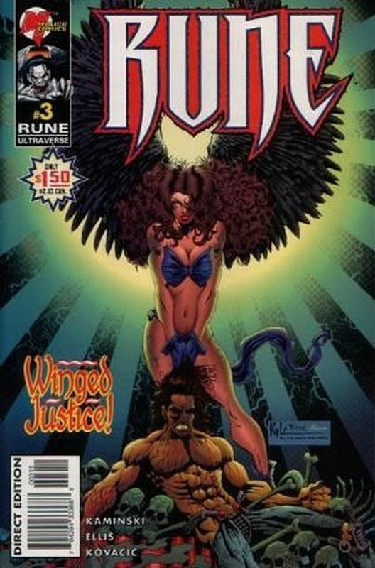 Cover of Rune (Vol 2) #3. One of 250,000 Vintage American Comics on sale from Krypton!