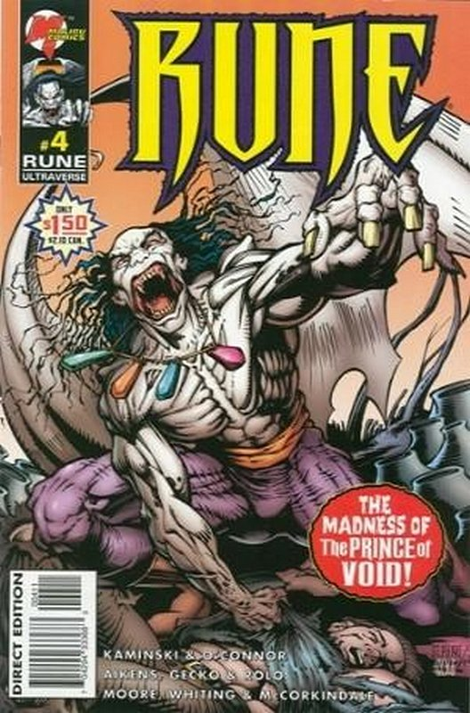 Cover of Rune (Vol 2) #4. One of 250,000 Vintage American Comics on sale from Krypton!