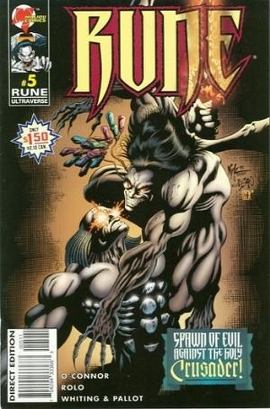 Cover of Rune (Vol 2) #5. One of 250,000 Vintage American Comics on sale from Krypton!