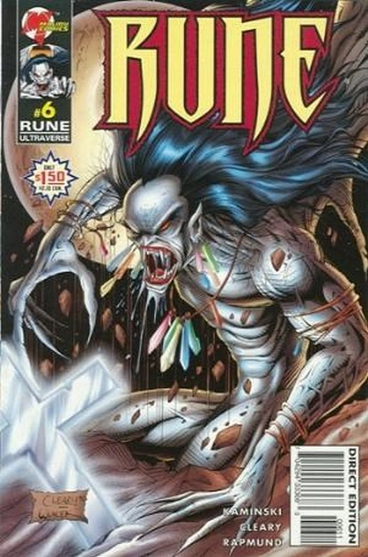 Cover of Rune (Vol 2) #6. One of 250,000 Vintage American Comics on sale from Krypton!