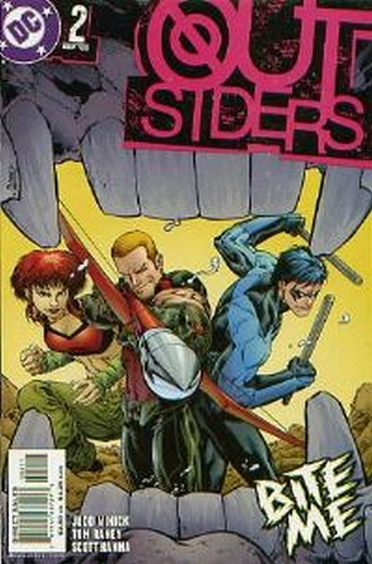 Cover of Outsiders (Vol 3) #2. One of 250,000 Vintage American Comics on sale from Krypton!