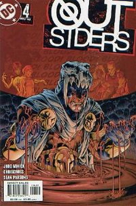 Cover of Outsiders (Vol 3) #4. One of 250,000 Vintage American Comics on sale from Krypton!
