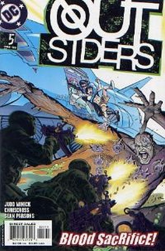 Cover of Outsiders (Vol 3) #5. One of 250,000 Vintage American Comics on sale from Krypton!