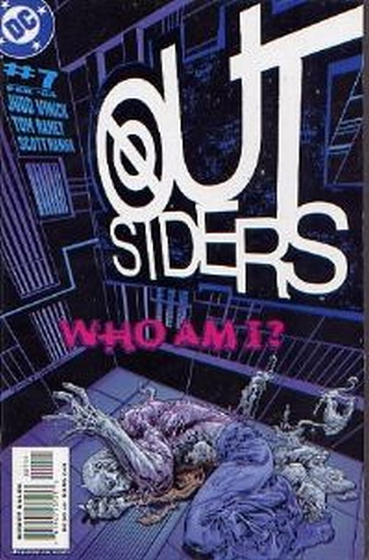 Cover of Outsiders (Vol 3) #7. One of 250,000 Vintage American Comics on sale from Krypton!