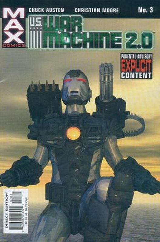 Cover of War Machine 2.0 (2003 Ltd) #3. One of 250,000 Vintage American Comics on sale from Krypton!